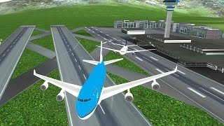 Airplane Flying Flight Pilot (by i6 Games) Android Gameplay [HD]