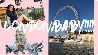MAY '18: WALKING AROUND LONDON | TRAVEL VLOG