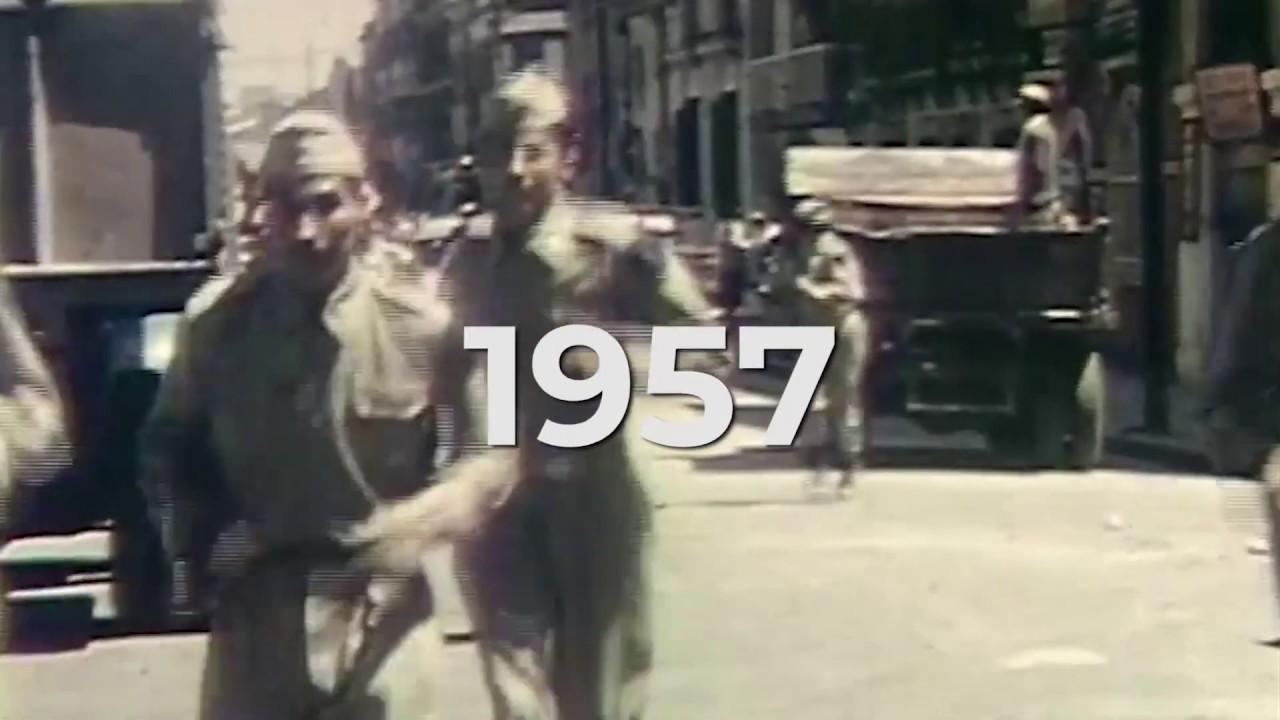 #SiempreConMéxico. 1957, aplicación de #PlanDNIIIE por sismo en la #CDMX. #SiempreContigo.