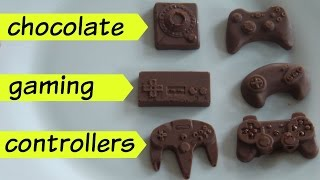 Chocolate Gaming Controllers - Nes - Sega - PS2 - N64 - Atari - Xbox