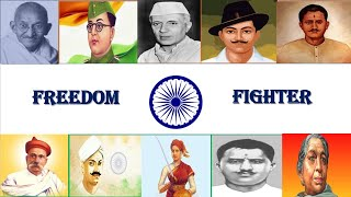 Indian Freedom Fighters Names for Kids. Top 10 freedom fighters names.