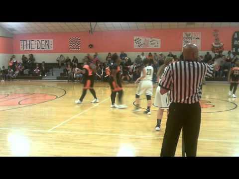 Union Parish High School Lady Farmers vs  Dotson P  2