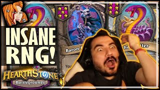 IT'S DOWN TO THE COILER RNG?! - Hearthstone Battlegrounds