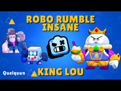 Brawl Stars - Robo Rumble Insane - King Lou - Walkthrough No Commentary