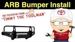 ARB Bull Bar Bumper Install on a Toyota 4Runner (ARB PN: 3423020)