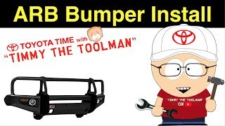 In this video we show you how to install a winch compatible Toyota ...