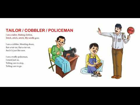 Tailor / Cobbler / Policeman | Nursery Rhymes & Songs For Children I Animated I Firefly Rhymes