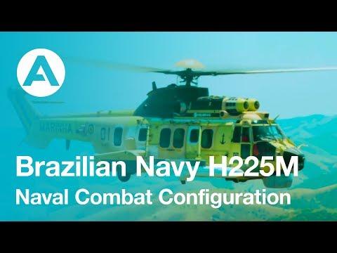 Brazilian Navy H225M Naval Combat Configuration