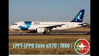 LPPT-LPPD   A320 SATA