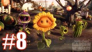 Играю в Plants vs Zombies Garden Warfare - WELCOME MAT - Подсолнух в Действии