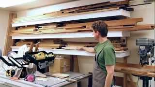 Making A Prettified Lumber Rack