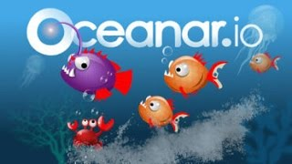 Online Fish Game - New Online Gameplay (io Gameplay) Gameplay of Oceanar.io