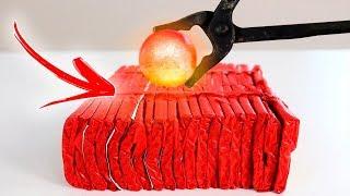 Baixar 500 BOMBAS VS BOLA DE METAL QUENTE A 1000 GRAUS !!! ( EXPERIMENTO )