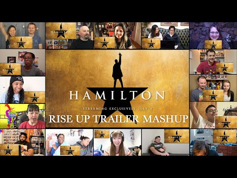 Hamilton | Official Trailer | Disney+ (2020) Reaction Mashup | Watchin' It All