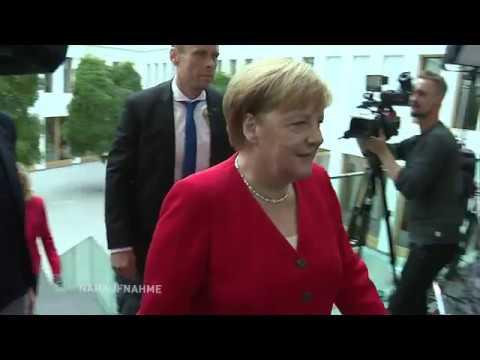 Angela Merkel will bis 2021 im Amt bleiben - Sommerpressekonferenz der Kanzlerin