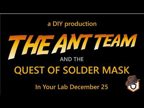 DIY Solder Mask - The Ant Way