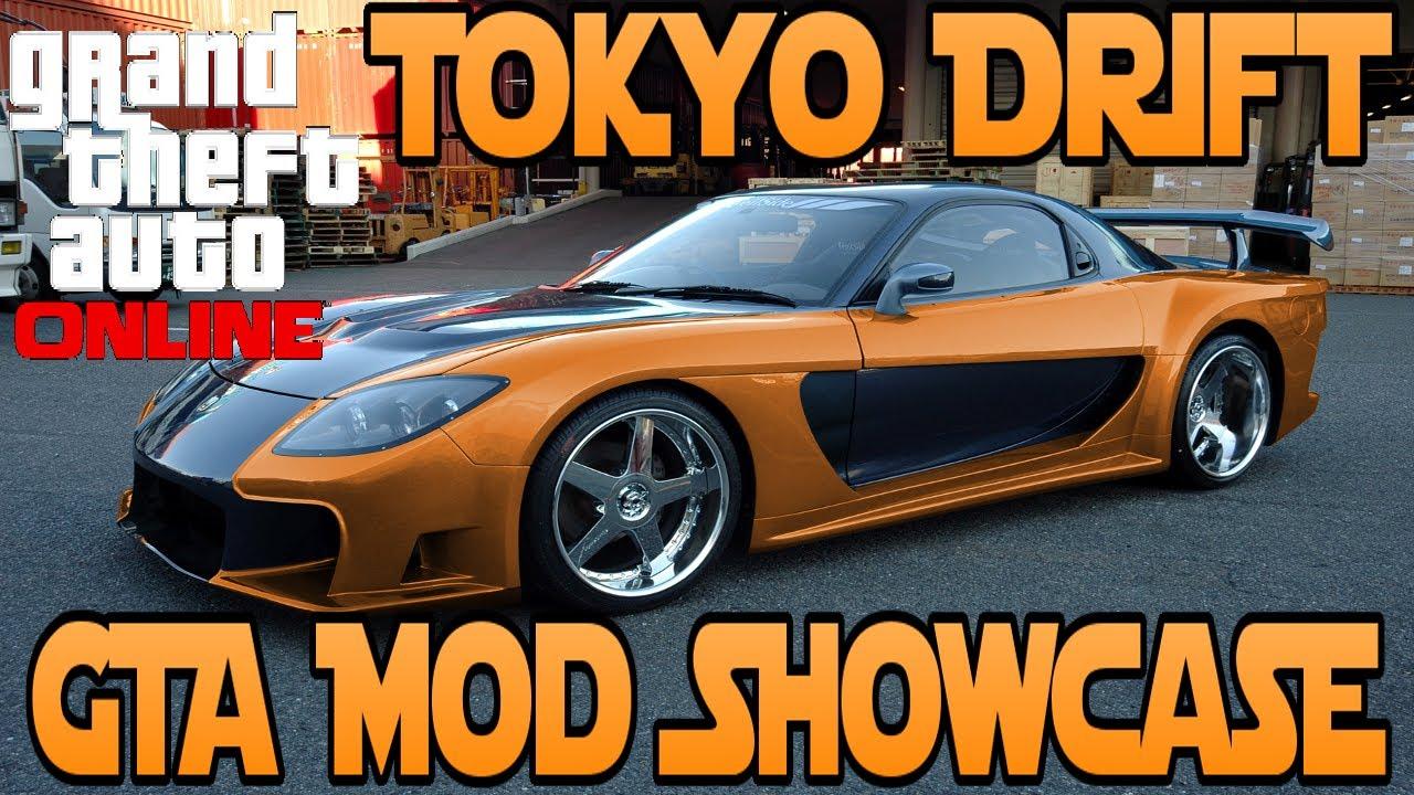 Gta Mod Tokyo Drift Mod Drifting Mod Gta Mod Showcase