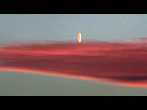 UFO Travels Through Cloud Near Mesquite, Nevada on Jan 4, 2021, UFO Sighting News.