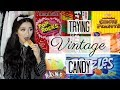 Trying Vintage Candy | Haley Marie
