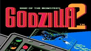 Godzilla 2: War of the Monsters (NES) Scenario 7: Invaders from Space (Walkthrough)