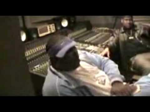 Tupac in studio recording Good Life & Hit Em Up Part 1 (HQ)