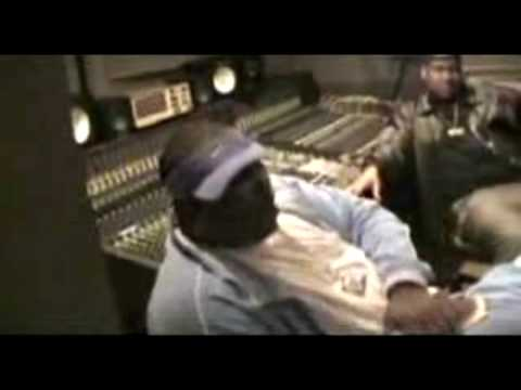 Tupac in studio recording Good Life & Hit Em Up Part 1 (HQ)