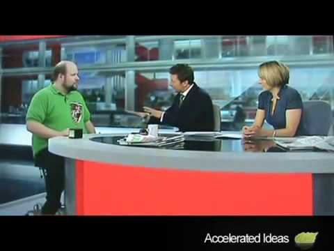 Notch BAFTA Interview on BBC News High Quality   YouTube