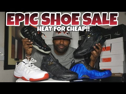 EPIC SHOE SALE | HEAT FOR CHEAP | HURRY BEFORE SOLD OUT