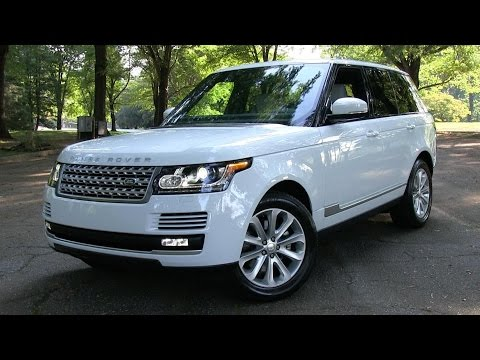 2015 Range Rover HSE Start Up, Road Test, and In Depth Review