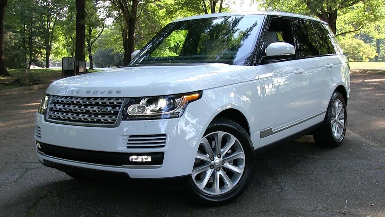 2015 Range Rover HSE Start Up, Road Test, and In Depth Review - YouTube
