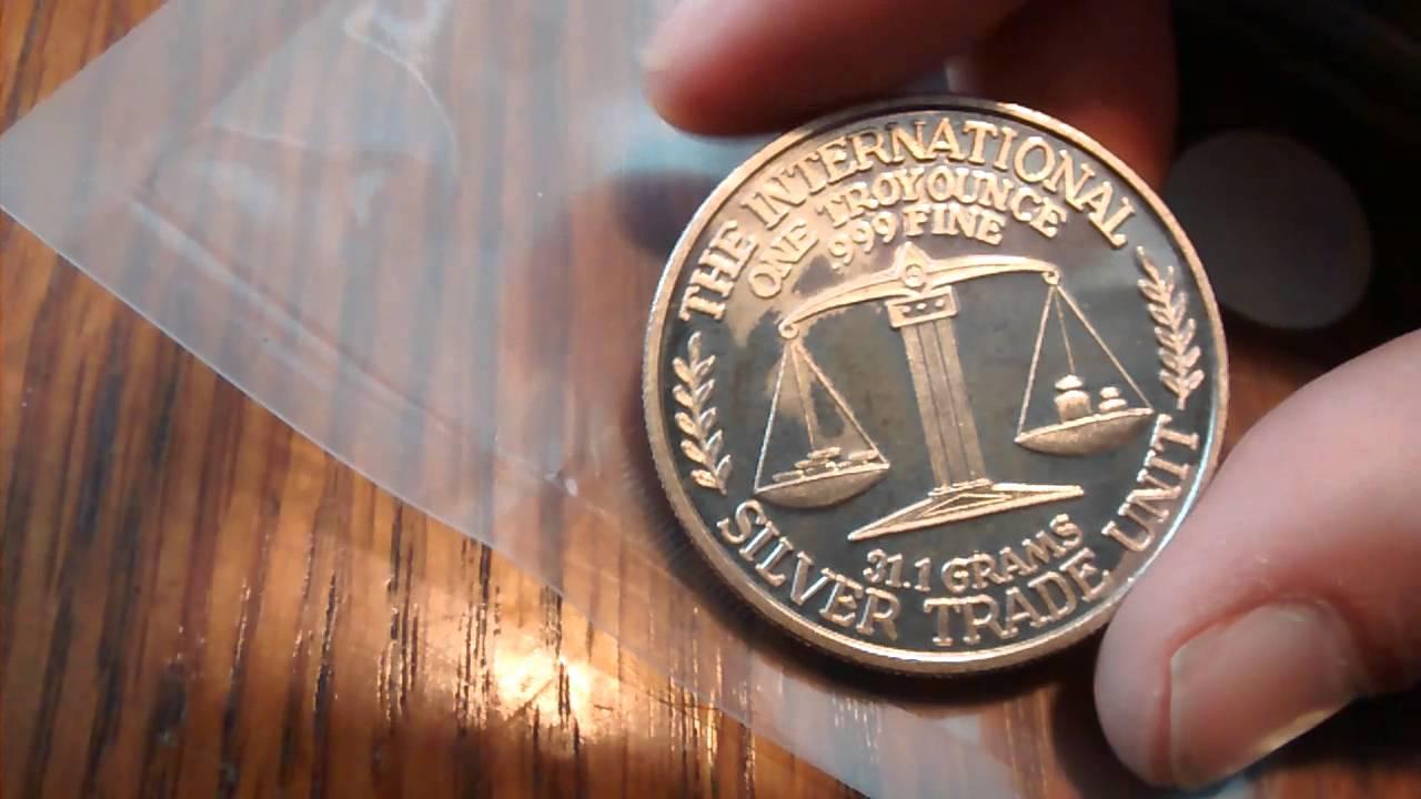 One Ounce 999 Fine Silver Value April 2019