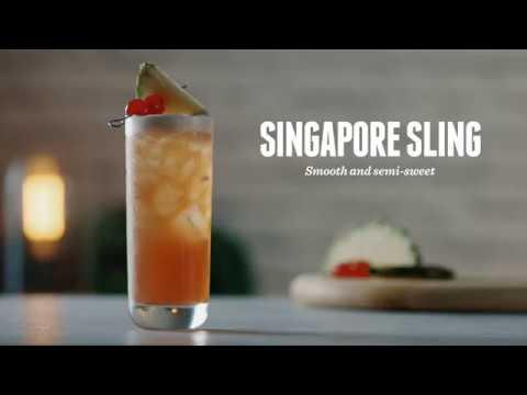 How to make a Singapore Sling   Cocktail Recipes