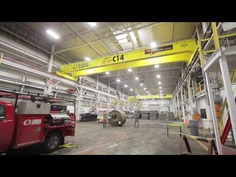 Expert Crane Steel Warehouse Install HD