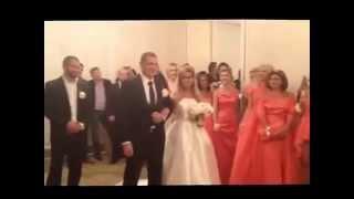Свадьба Ксении Бородиной  ВИДЕО ИЗ ЗАГСА
