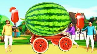 மாபெரும் தர்பூசணி | Giant Magical Watermelon Tamil Story | Stories in Tamil | Kokku Tv Tamil Stories