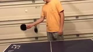 Table tennis variety of playing