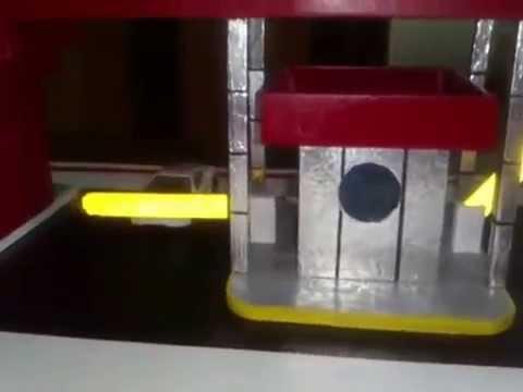 Maqueta de caseta de vigilancia youtube - Como hacer una caseta de obra ...