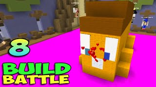 ч.08 Minecraft Build Battle - Няшка Хлебушек и Трон Короля