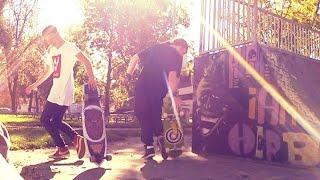 Spaß im Skatepark & auf dem Spielplatz! - Longboard Tour Tag 37 | ungefilmt