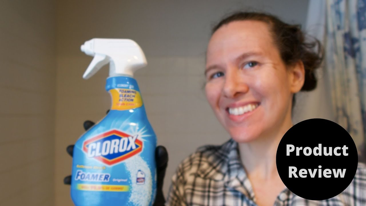 Clorox Foamer Bathroom Cleaner Review - YouTube