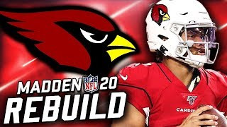Rebuilding the Arizona Cardinals | Winning a Super Bowl at Home?! Madden 20 Franchise
