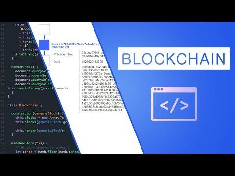 Développer une blockchain en JavaScript