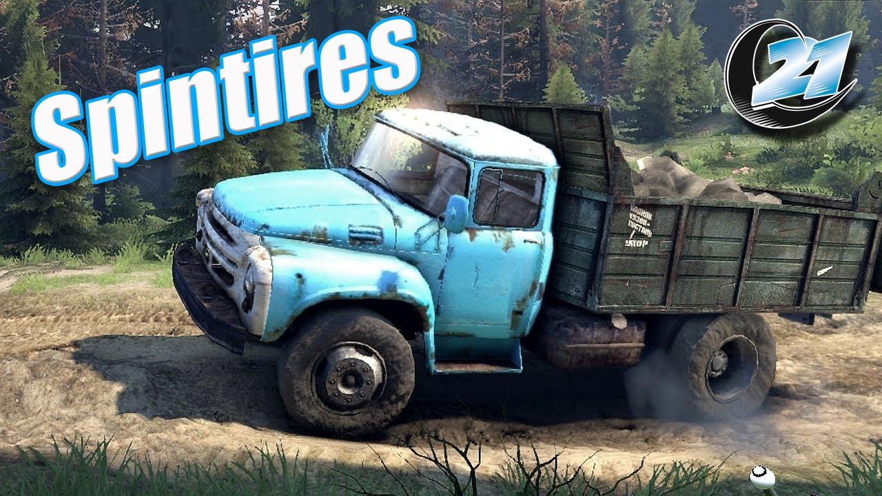Spintires Juego Simulador De Camiones Youtube