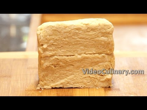 Quick Puff Pastry Recipe - Video Culinary