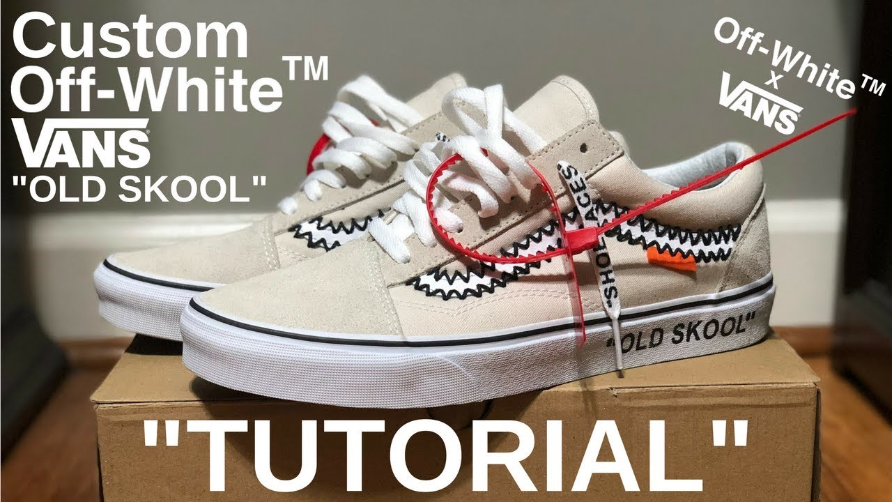 HOW TO  OFF WHITE VANS - YouTube 74278f369