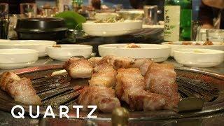 The Korean food you