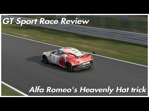 Race Review: Alfa Romeo's Heavenly Hat Trick