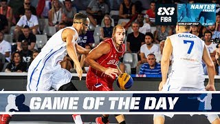 GAME OF THE DAY - Puerto Rico vs Serbia - FIBA 3x3 World Cup 2017