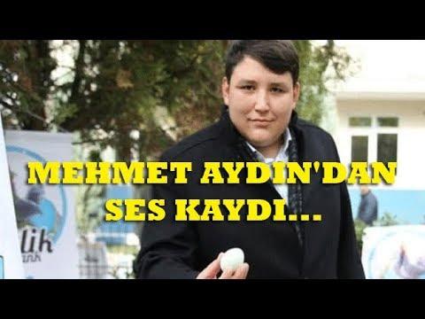 Çiftlik Bank'ın sahibi Mehmet Aydın'dan ses kaydı: Geçmiş olsun