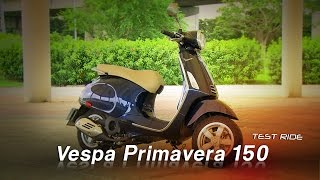 Vespa Primavera 150 試駕:優雅的義大利孔雀